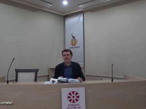 Mesnevî Okumaları -26- Prof. Dr. Hicabi Kırlangıç
