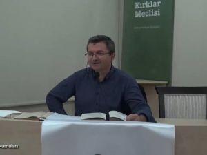 Mesnevî Okumaları -29- Dr. Fahrettin Coşguner